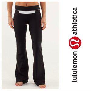 Lululemon Groove Flare Pant Yoga Legging Gray, 4